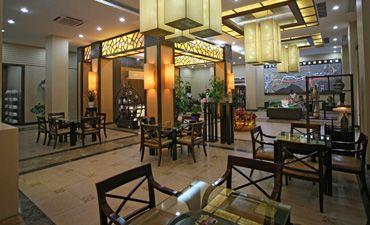 新中式售樓處裝修效果圖,高檔奢華富有內涵