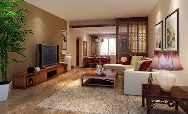北京張女士住宅中式裝修,簡潔清新突出雕飾魅力