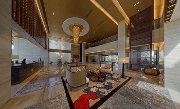 新中式風格的售樓處設計,既有傳統韻味又具備時尚元素