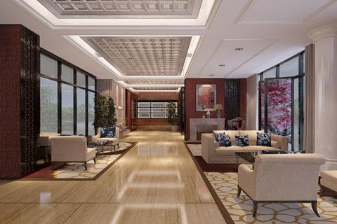 天弘基金會所新中式裝修風格 繪出浮世中的一抹幽靜