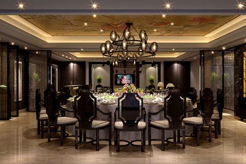 湖南賓館現代簡約中式裝修案例——深邃古樸,優雅達觀