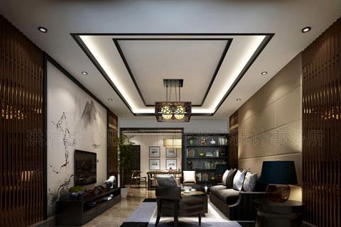 河北泊頭付總中式家裝新中式風格設計 時尚的古典風韻