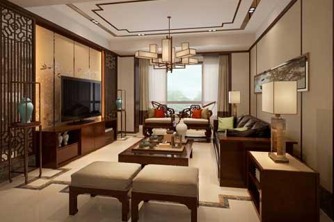 江蘇連云港中式家裝現代中式風格 平穩而儒雅,簡練且精