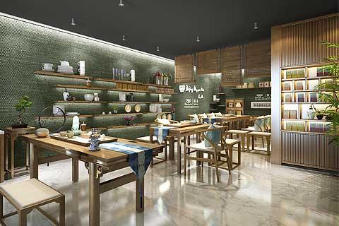芬吉茶業奧林匹克俱樂部會所中式設計案例