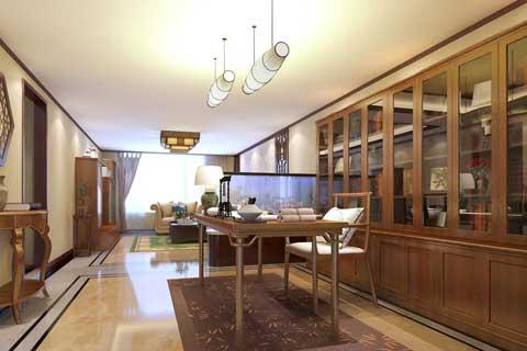 北京人濟山莊某客戶新古典中式家裝設計案例