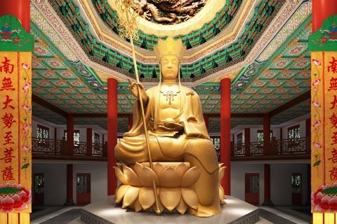 四川射洪大悲寺寺院設計方案 盡顯佛禪之韻
