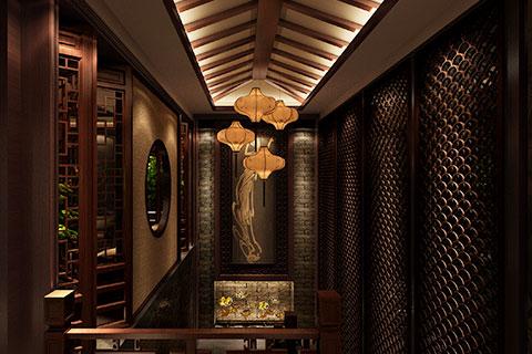上海古典會所裝修設計,奢華大氣挑戰現代審美