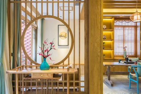 民宿客棧裝修設計,用美學來闡釋地域特有的文化