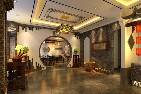 曲阜酒店中式設計案例,古雅裝飾凸顯儒韻內涵