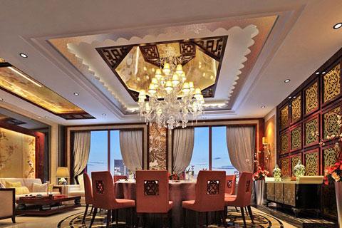 中式風格酒店賓館設計,凸顯大氣高雅的休閑韻味