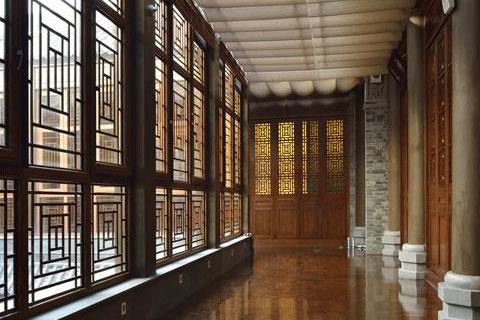 花溪堂會所中式設計,高端大氣古韻濃郁