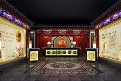 中醫養生會所裝修設計,打造古雅淳厚中式韻味空間