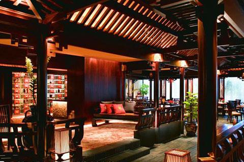 新中式餐廳設計,富麗文雅古韻悠悠