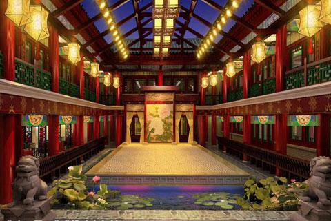 秦皇島古典中式裝修風格,彰顯大家風范和氣派