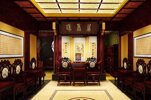 家具展廳中式設計,古樸悠然且莊重大氣
