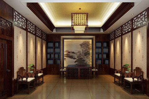 秦皇島新辦公室中式設計 濃濃古意滲透人們心扉