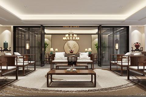 天津新中式茶會所設計 親切而舒適的休憩之所