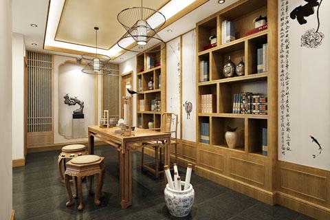 陜西西安茶樓禪意中式設計  一場茶與禪的邂逅