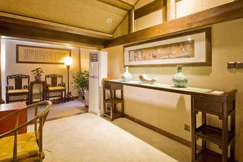 北京密云某中式風格民宿酒店裝修設計案例