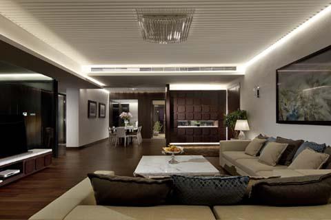 古典新中式家裝裝修效果圖